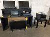 Desk w/Printer Stand