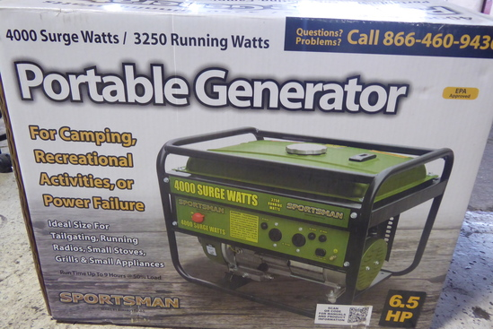 Sportsman 6.5 Hp Portable Generator