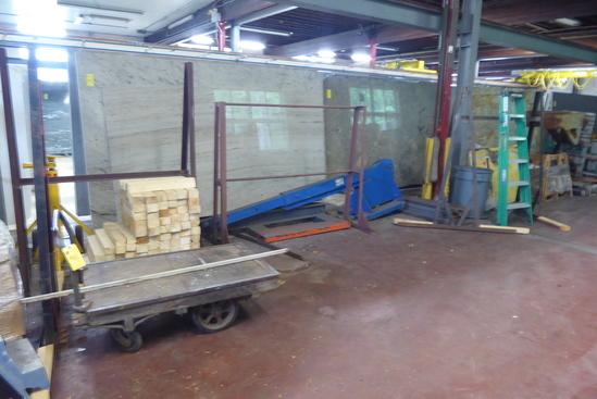 Cart, Ladder, Racks, Fork Lift Booms, Etc., Asst.  (Lot)