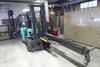 Mitsubishi LP Gas Forklift w/Sideshift & Boom, m/n FG33N, 2:11 Hours