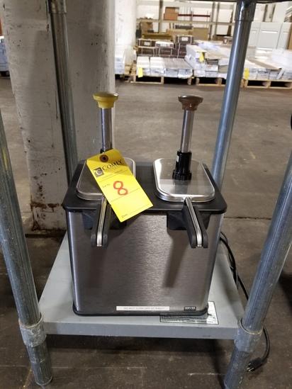 Server 85899 S.S. Hot Topping Dispenser