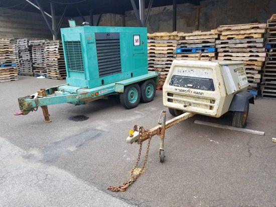 Ingersoll Rand Compressor Trailer
