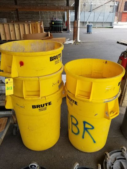 Brute Trash Cans