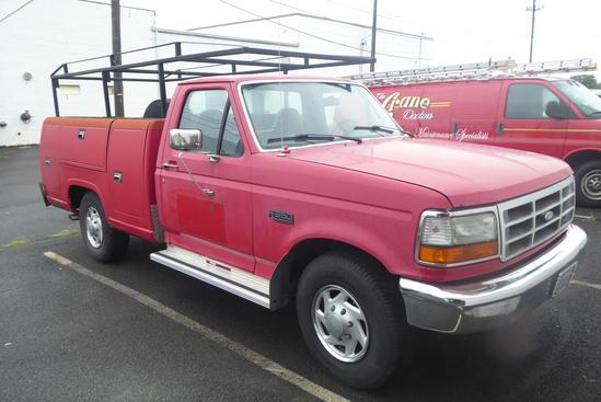 1997 Ford F-350XL Utility Gas Truck