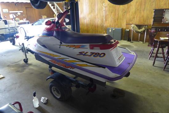 1996 Polaris SL780 Jet Ski