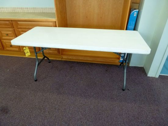 Folding Tables, 6'