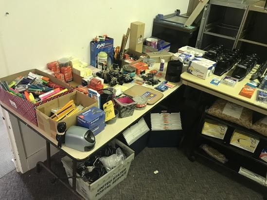 Office Supplies, Asst.