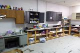 Contents of Room: Cabinets, Board Games, Finger Paint, Lockers, Etc.