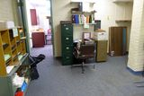 Contents of Room: Desks, Chair, Bookcase, File Cabinets