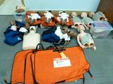 Adult/Child Resuscitation Doll and Mannequin w/Bag