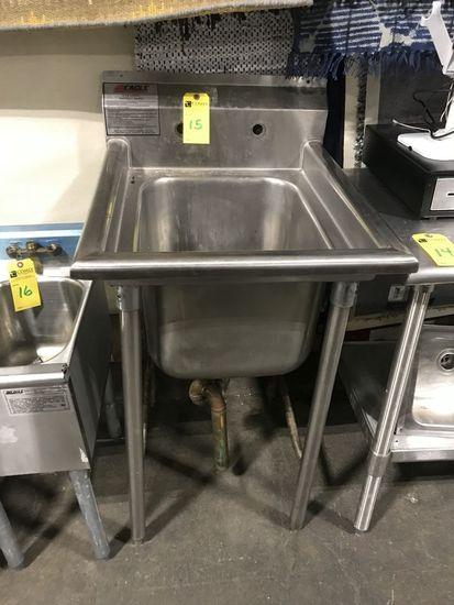 Eagle Stainless Steel Single Deep Bowl Sink