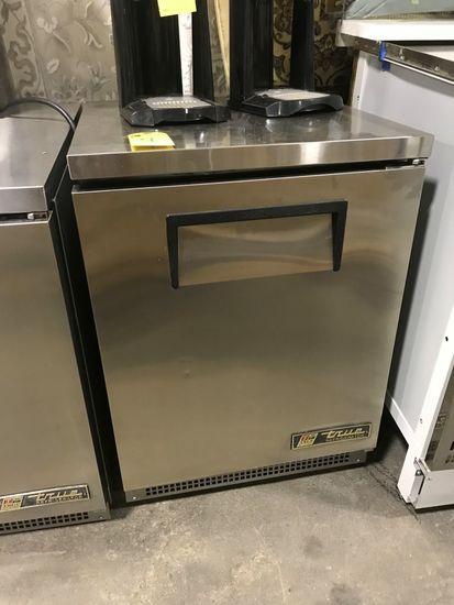 True Stainless Steel Undercounter Single Door Refrigerator