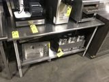 Eagle Stainless Steel Prep Table w/Under Shelf