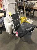 Step Ladder, Mop Bucket, Trash Receptacle, Etc.