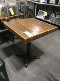 Wood Pedestal Tables