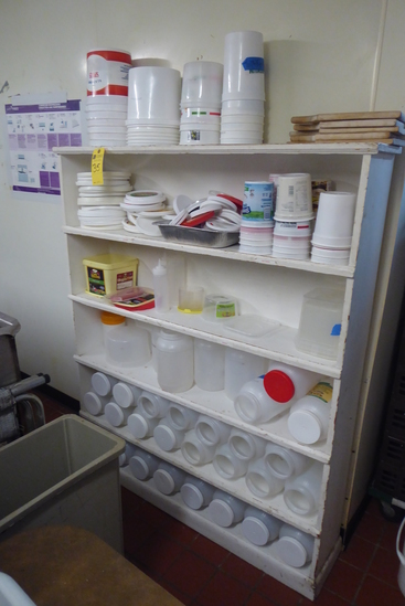 Containers, Lids, Cutting Boards, Etc.