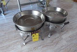 Round Aluminum Chafing Dishes