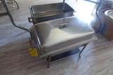 Square Aluminum Chafing Dishes