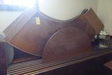 Half Round Wood Tables, 6' & 4'