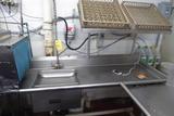Dishwashing Line Table & Sink