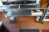 Stainless Steel Prep Table, 6'x2'