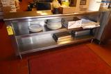 Stainless Steel Shelf, 6'