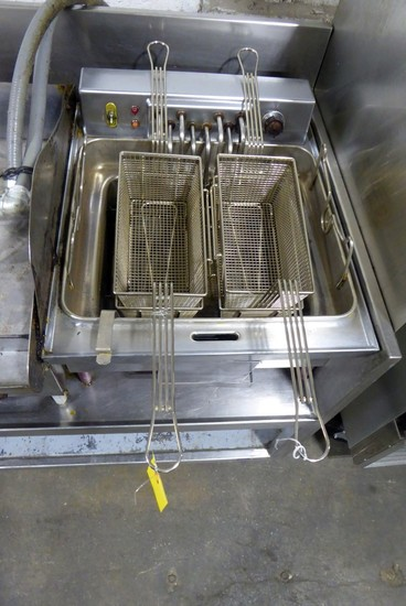 G.E. 2-Bay Fryer