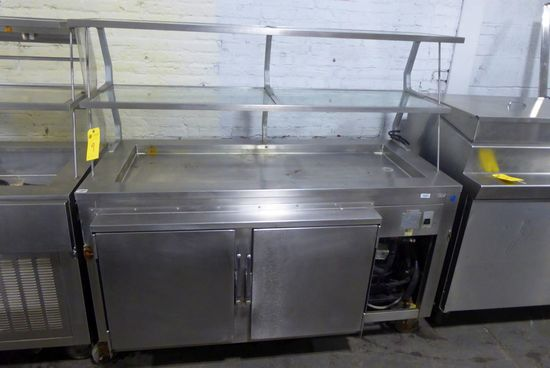 Buffet, 5' w/Cold Pan & Refrigerated Base