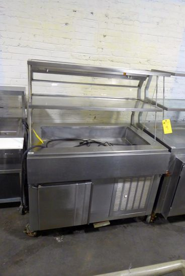 Buffet, 3' w/Cold Pan & Refrigerated Base