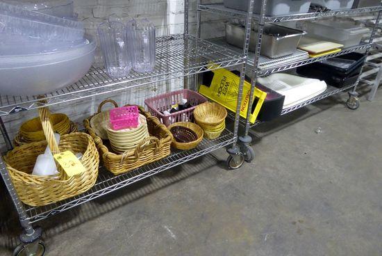Wicker Baskets, Salt & Pepper Shakers, Cutting Boards, Etc.