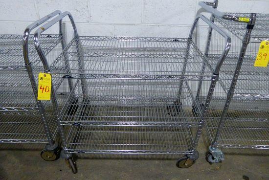 Metro 3-Tier Portable Metro Rack Cart