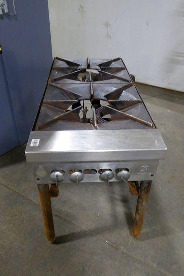 Propane 2-Burner Stock Pot Range