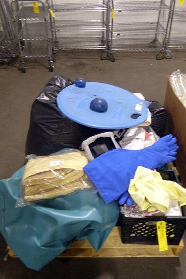 Medical Equipment: Gloves, Oxygen Hoses, Etc.