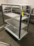 Aluminum 3-Tier Cart