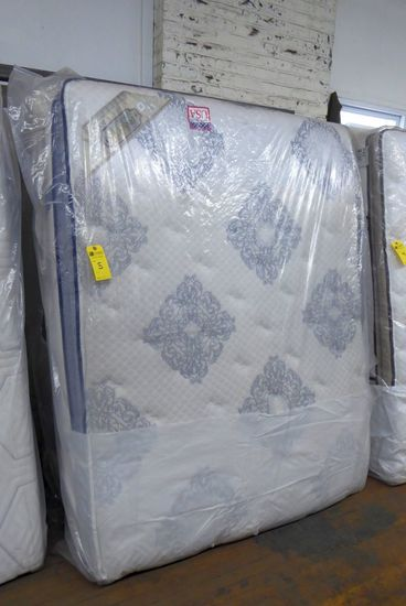 Queen Mattress & Box Spring Pillow Top
