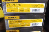 Mirka 180 Grit Sanding Discs