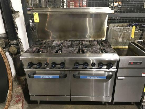Radiance 8-burner & 2-oven Range