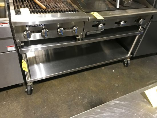 Portable S.S. Equipment Stand