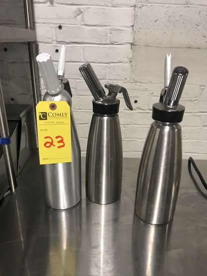 Isi S.S. Whipped Cream Dispensers