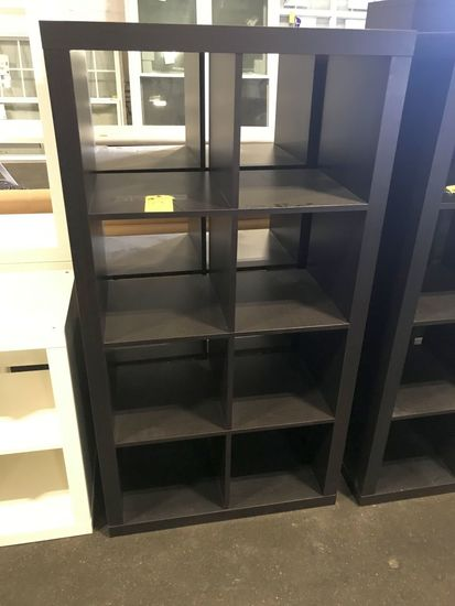 Wood Shelfs, 8-cubby, Brown