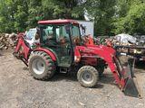 2010 Mahindra Tractor W/loader & Backhoe