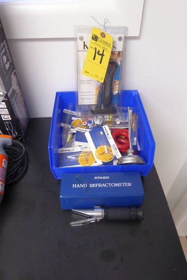 Refractometer, Torch, Magnetic Stirrers, Etc.