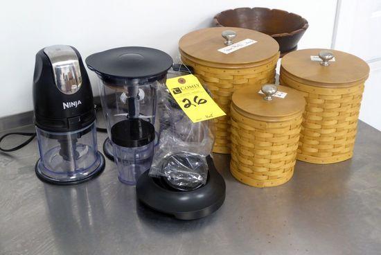 Ninja Processor & Containers