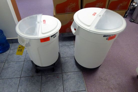 Rubbermaid Trash Cans