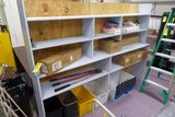 Wood Cabinet w/Contents