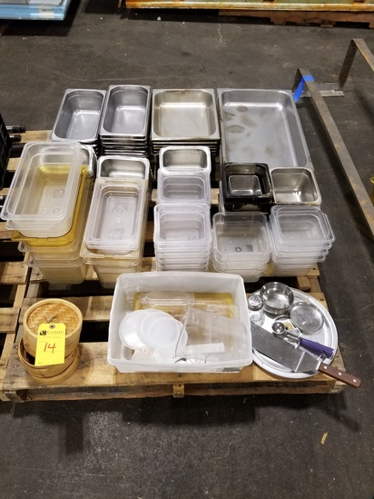 S.S. & Plastic Food Containers