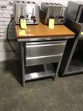 Prep Table, 2-Drawer