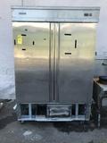 Economy EF2 2-Door S.S. Freezer