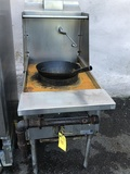 Gas Wok Cooking Station