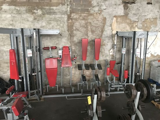 Body Masters Circuit Master 12-Station Cable Crossover Universal Gym